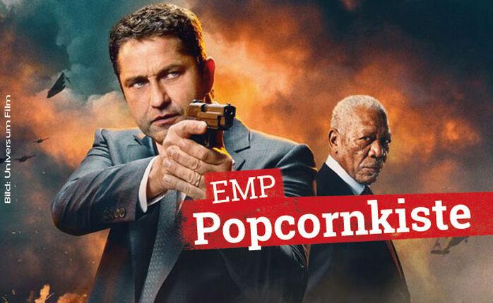 Kinostarts: ANGEL HAS FALLEN, PLAYMOBIL und LITTLE MONSTERS in der EMP Popcornkiste vom 29. August 2019