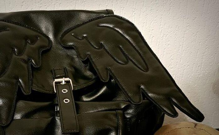 Beflügelt: Der Winged Rucksack