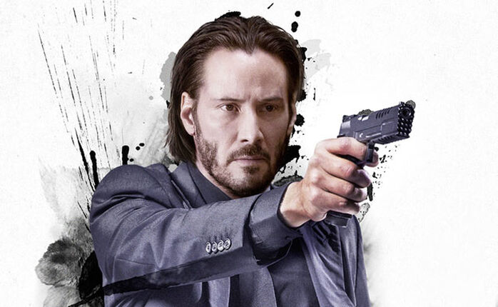JOHN WICK - Keanu Reeves will Rache. Für... ach, fragt lieber nicht!