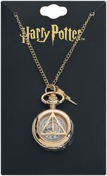 Deathly Hallows Watch Necklace