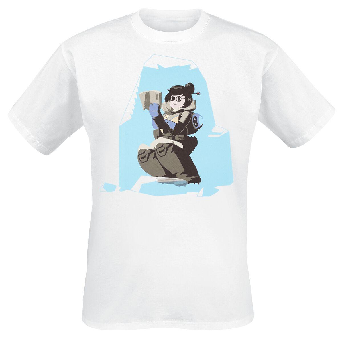Overwatch Mei T-Shirt weiß ABYTEX452