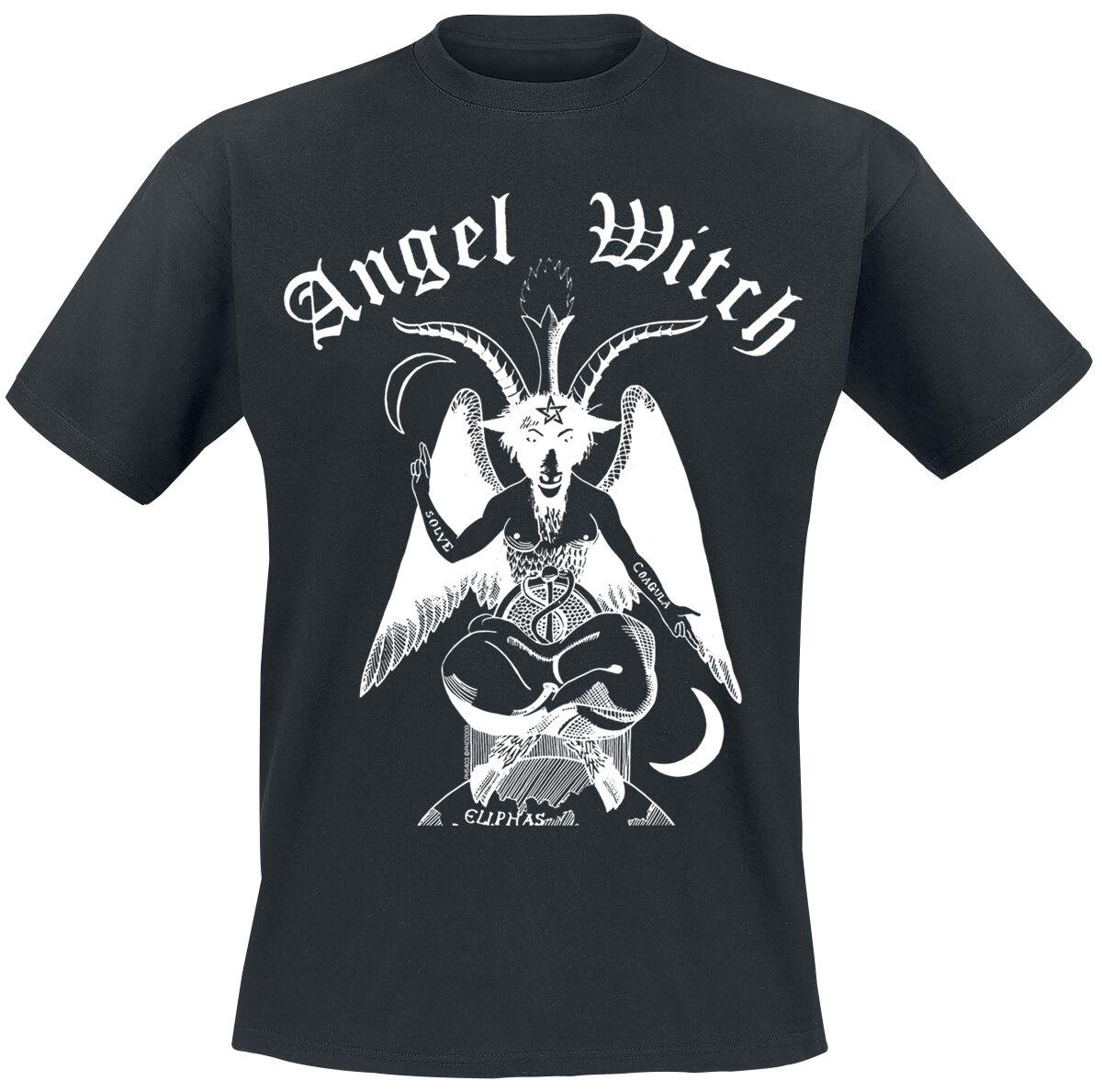 Image of Angel Witch Baphomet T-Shirt schwarz