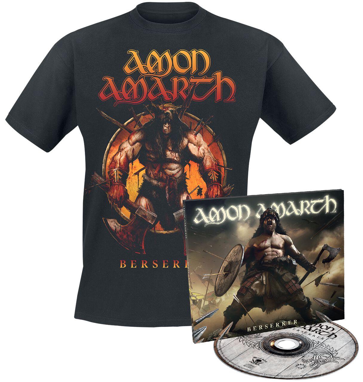 Image of Amon Amarth Berserker CD & T-Shirt Standard