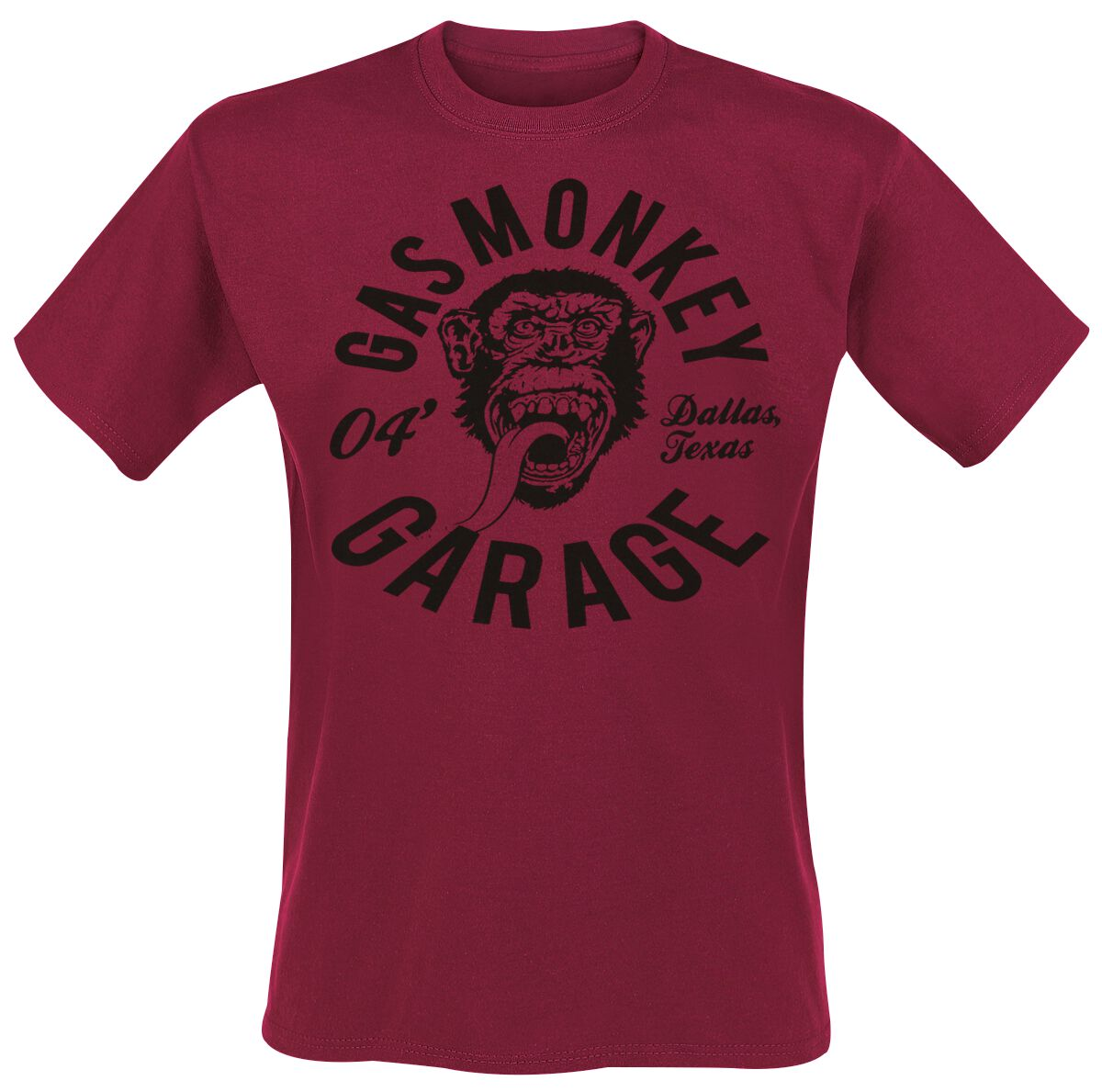 Gas Monkey Garage Monkey Mechanic T-Shirt rot GMG-TS-91 119
