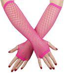 Lange Netz Handschuhe