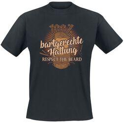 100% bartgerechte Haltung - Respect The Beard