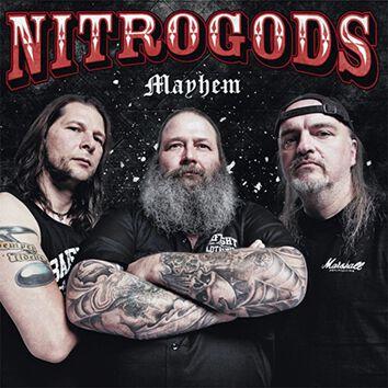 Image of Nitrogods Mayhem 7 inch-SINGLE Standard