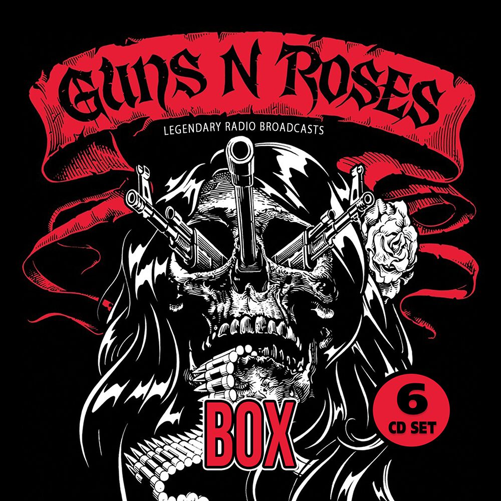 Image of Guns N' Roses Legendary Radio Broadcasts 6-CD Standard