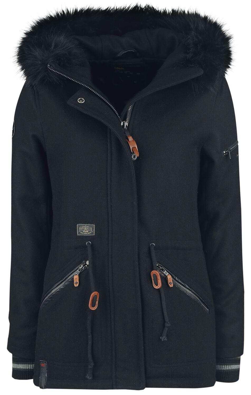 Jacken für Frauen - Khujo Willow Winterjacke schwarz  - Onlineshop EMP