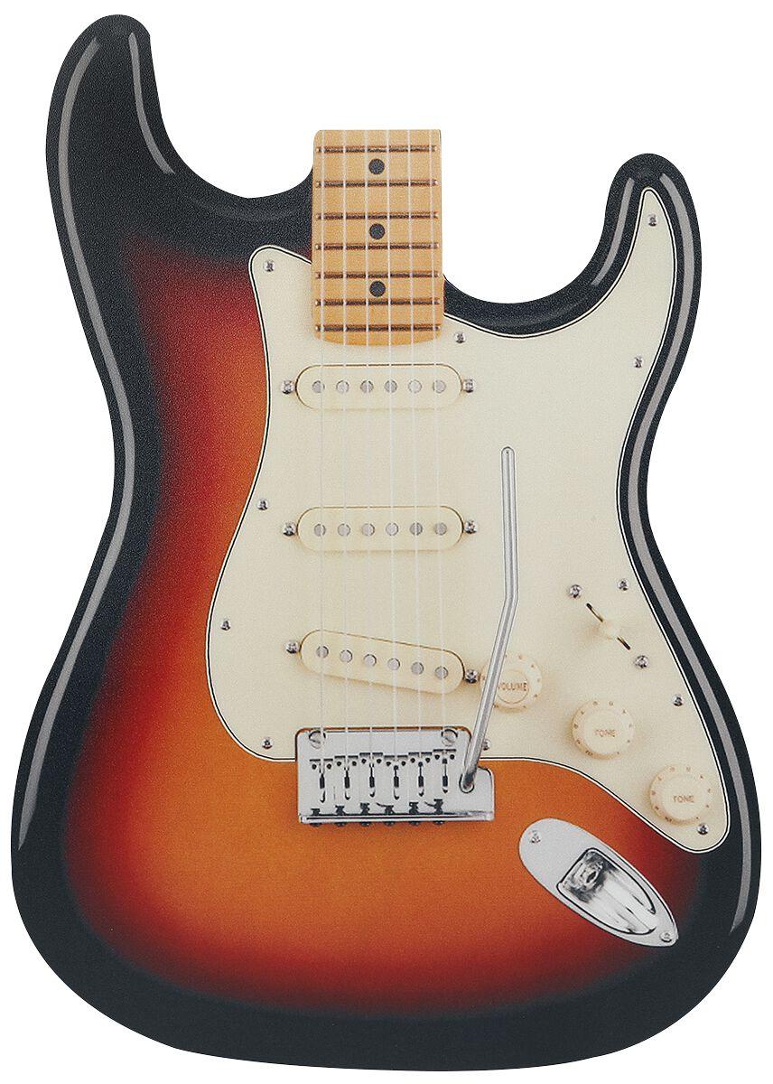Gitarre Strato  Mouse-Pad  multicolor