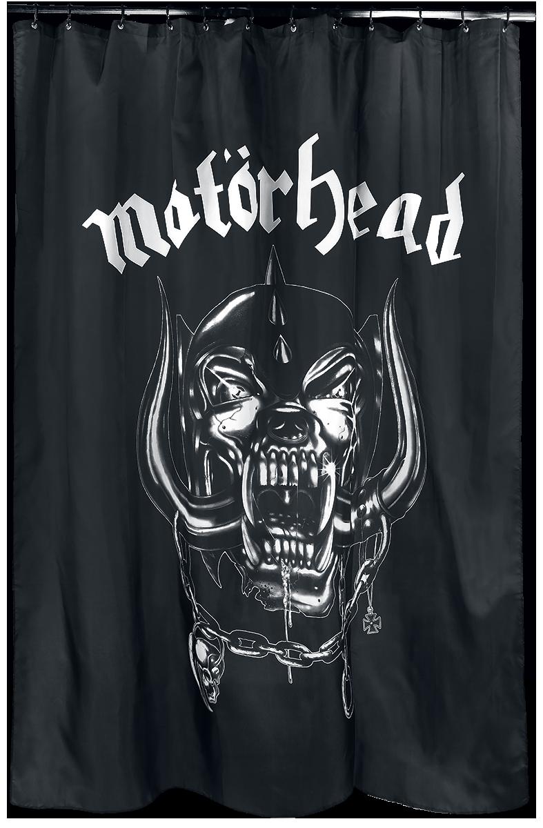 Motörhead - Warpig - Duschvorhang - schwarz| weiß