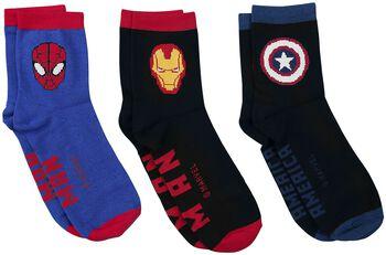 Captain America - Iron Man - Spider-Man