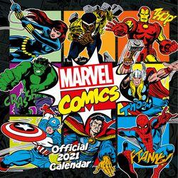 Wandkalender 2021 - Comics Classic