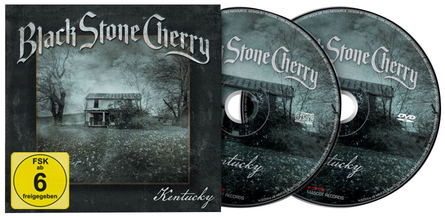 Image of Black Stone Cherry Kentucky CD & DVD Standard