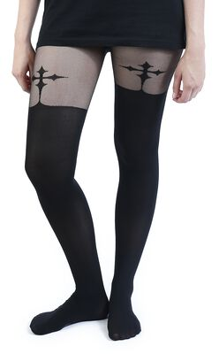 Goth Cross Suspender