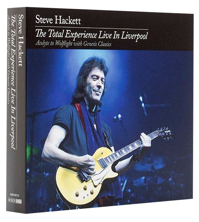 Image of Steve Hackett The total experience live in Liverpool 2-CD & 2-DVD Standard