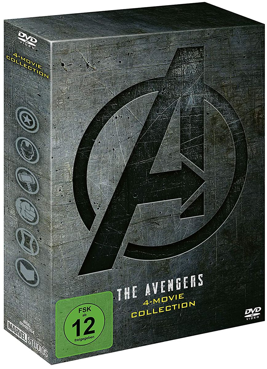 Image of Avengers 4-Movie Collection 4-DVD Standard