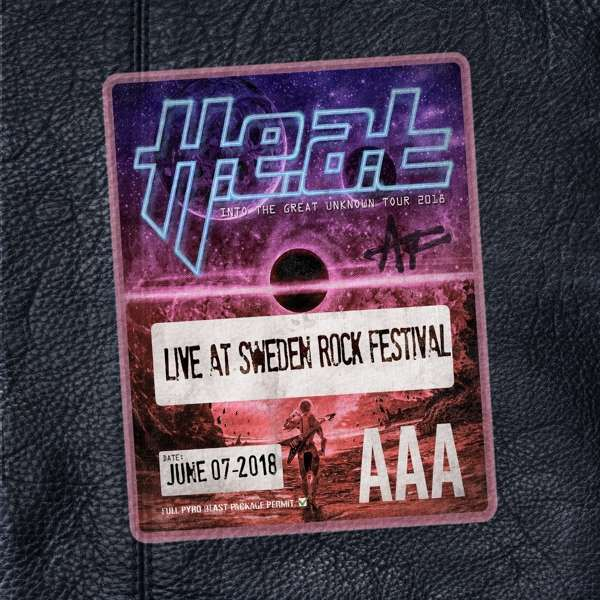 Image of H.E.A.T Live at Sweden Rock Festival Blu-ray & CD Standard