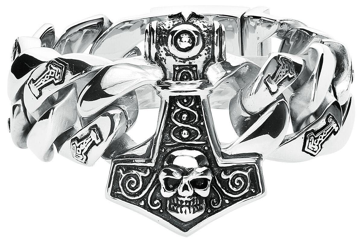 Image of etNox hard and heavy Thor's Hammer Armkette Standard