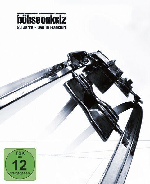 Image of Böhse Onkelz 20 Jahre - Live in Frankfurt 2-DVD & 2-CD Standard