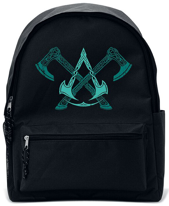Image of Assassin's Creed Axes And Crest Valhalla Rucksack Standard