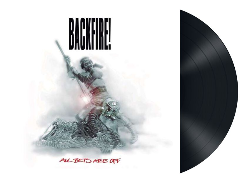 Image of Backfire! All the best are off LP schwarz
