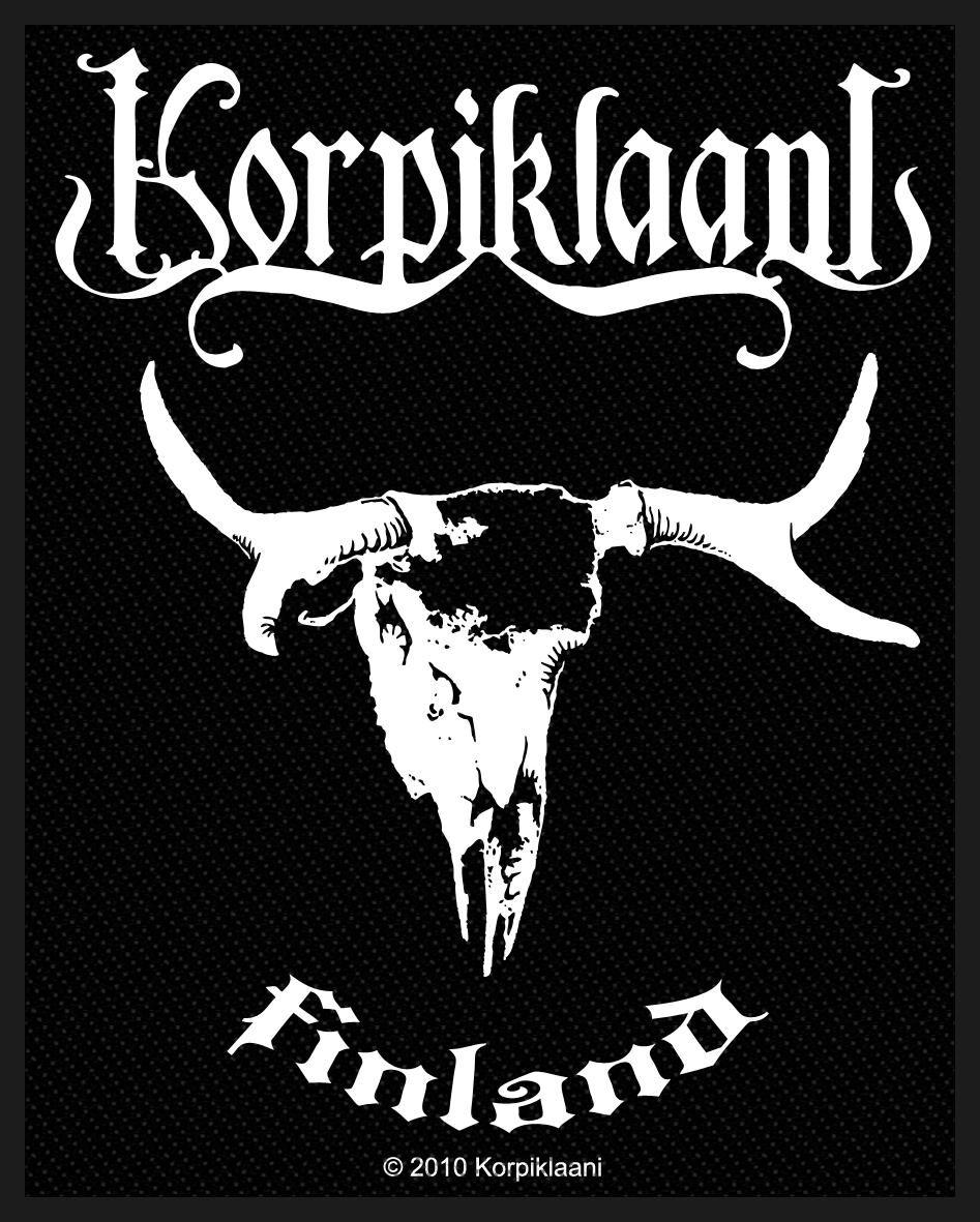 Korpiklaani  Finland  Patch  Standard