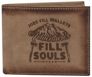 Ledergeldbörse Adventures Fill Souls