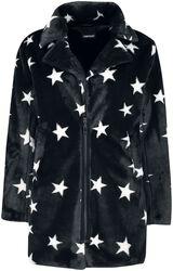 Starry Eyes Faux Fur Coat