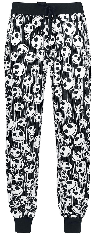 The Nightmare Before Christmas - Jack Skellington - Skulls - Pyjama-Hose - schwarz - EMP Exklusiv!