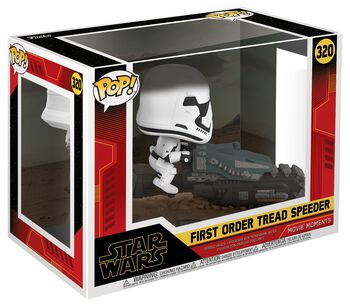 Episode 9 - Der Aufstieg Skywalkers - First Order Tread Speeder (Movie Moments) Vinyl Figure 320