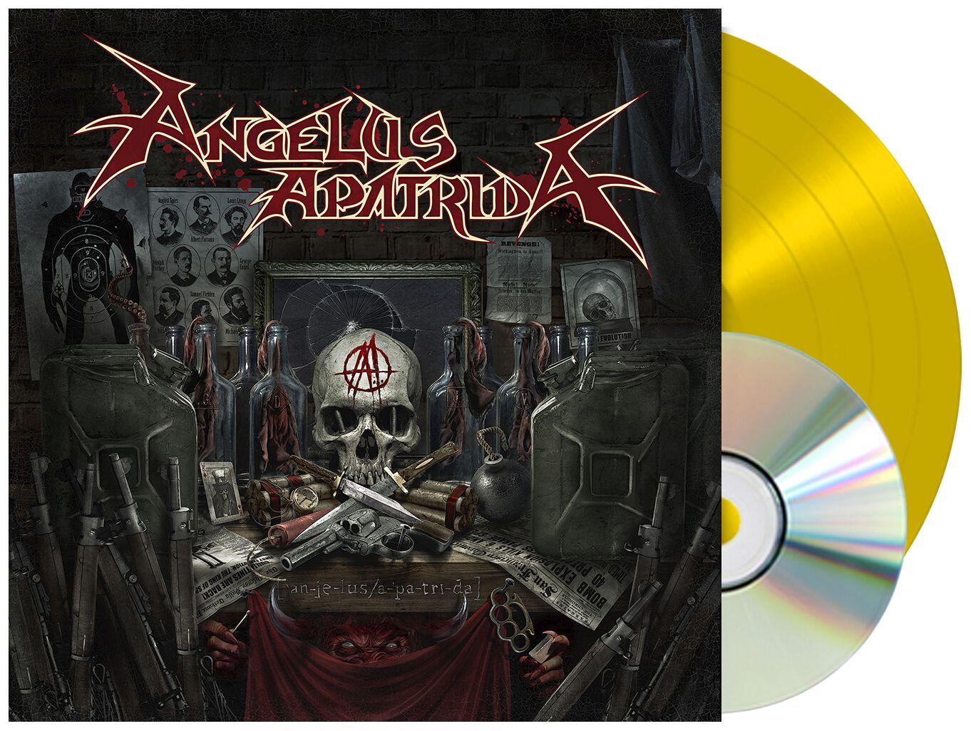 Image of Angelus Apatrida Angelus Apatrida LP & CD gelb
