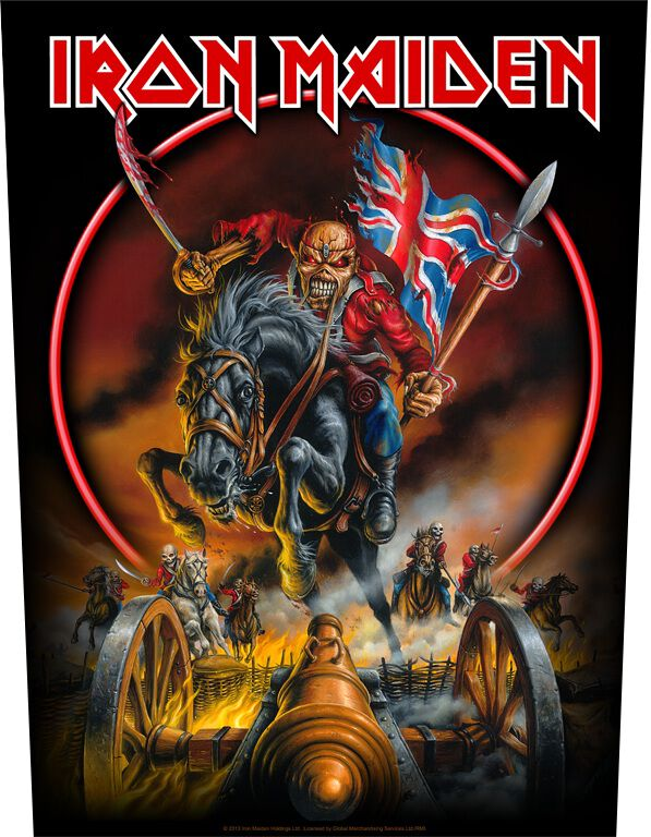 Image of Iron Maiden England '88 Backpatch Standard