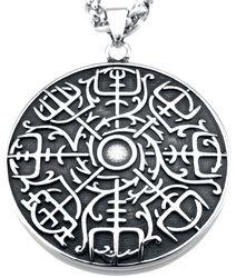 Vegvisir mit Keltischen Knoten
