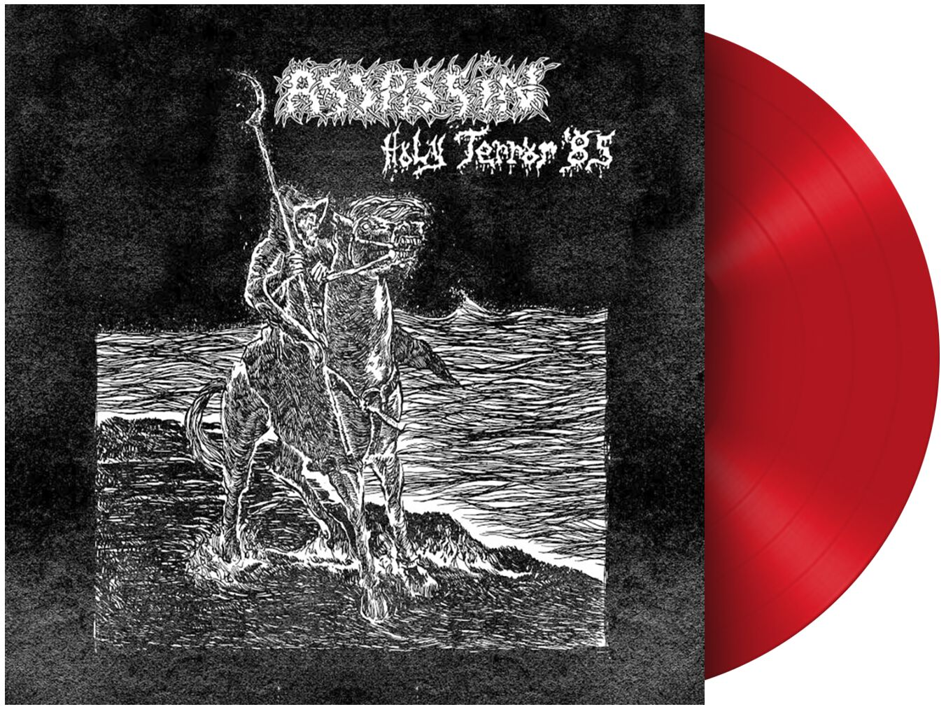 Image of Assassin Holy terror LP rot