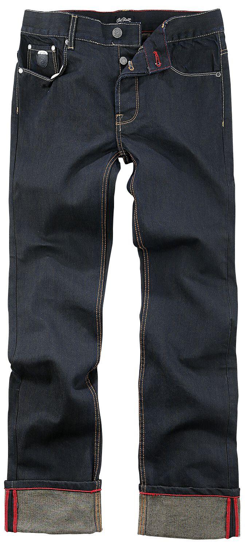 Chet Rock Slim Jim Jeans blau 5001_Navy