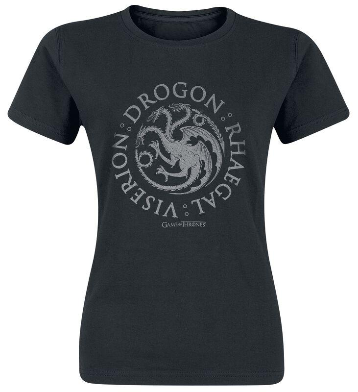 House Targaryen - Drogon Rhaegal Viserion