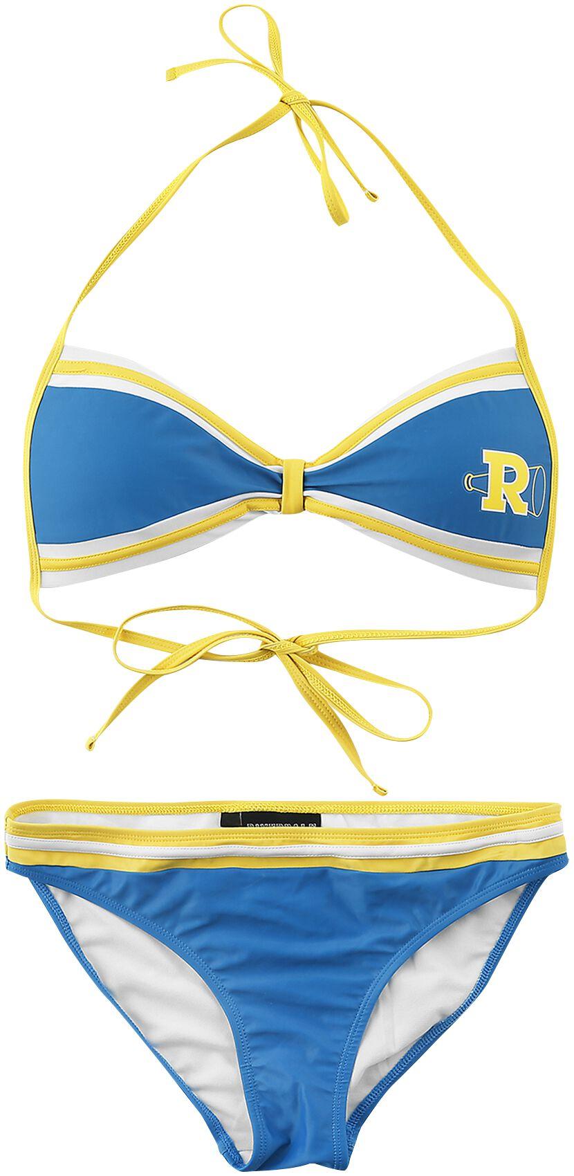 Bademode - Riverdale Riverdale High Bikini Set blau gelb  - Onlineshop EMP