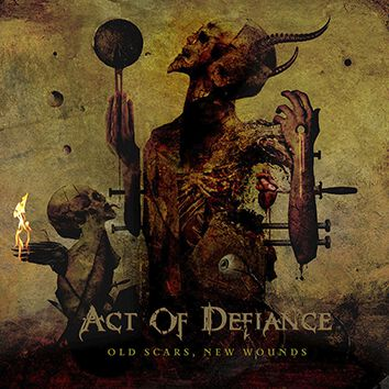 Image of Act Of Defiance Old scars, new wounds CD Standard