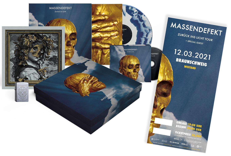 Image of Massendefekt Zurück ins Licht - Braunschweig - 12.03.2021 - Westand CD & LP & Ticket Standard