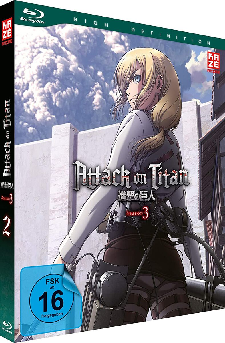 Image of Attack On Titan Staffel 3 - Vol.2 Blu-ray Standard