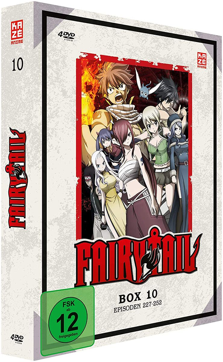Image of Fairy Tail Box 10 - Episoden 227-252 4-DVD Standard