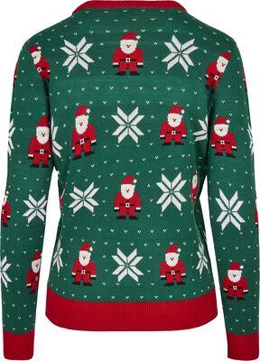 Ladies Santa Christmas Sweater