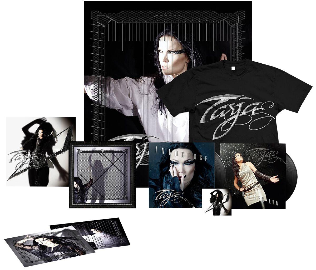 Image of Tarja The shadow self CD & DVD & T-Shirt (L) Standard