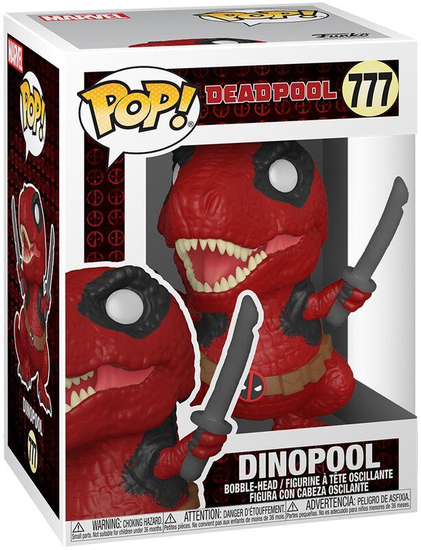 30th Anniversary - Dinopool Vinyl Figur 777