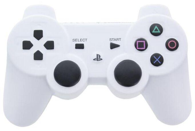 Playstation Anti-Stress Controller Scherzartikel weiß schwarz PP8343PS