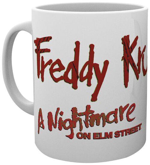 Image of A Nightmare on Elm Street Freddy Tasse Mehrfarbig