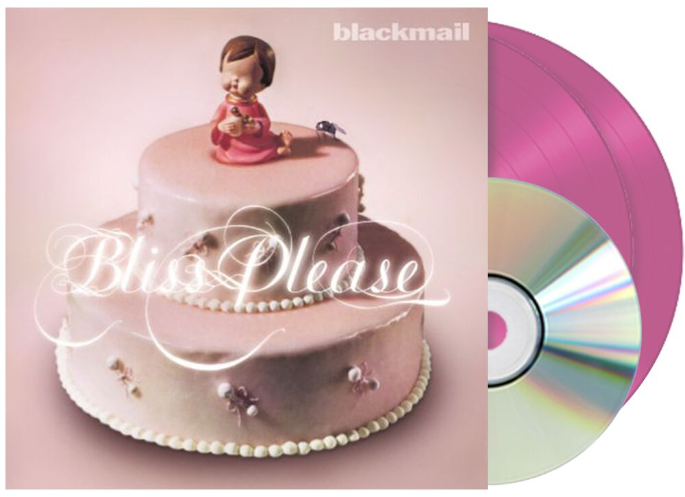 Image of Blackmail Bliss please 2-LP & CD pink