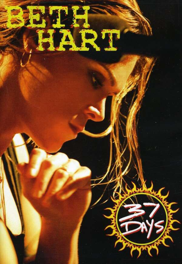 Image of Beth Hart 37 days DVD Standard