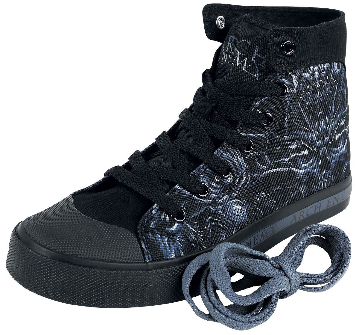Image of Arch Enemy EMP Signature Collection Sneaker schwarz/blau
